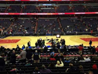 Verizon Center, section: 100, row: N, seat: 8