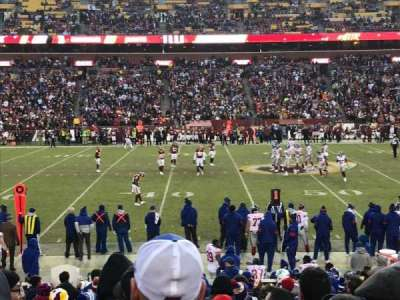 FedEx Field, section: 122, row: 17, seat: 13