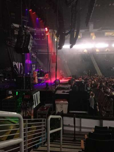 Infinite Energy Arena, section: 116, row: G, seat: 13