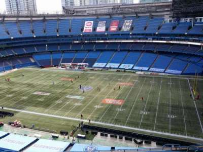 Rogers Centre, section: Renaissance Toronto Downtown H, row: Stadium View