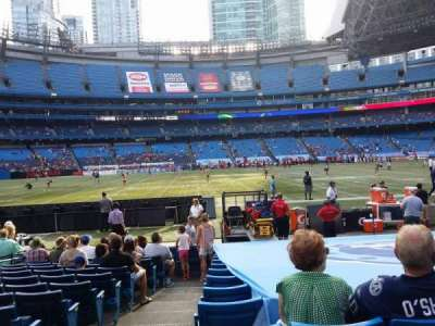 Rogers Centre, section: 112R, row: 13, seat: 1