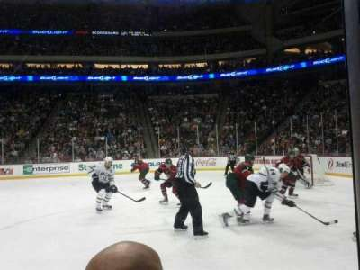 Xcel Energy Center, section: 115, row: 2, seat: 4