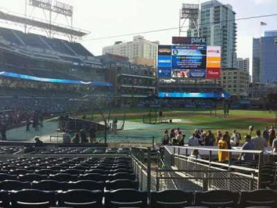 PETCO Park, section: 105, row: 20, seat: 8