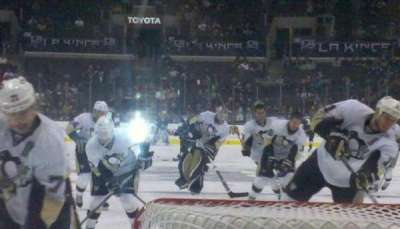 Staples Center, section: 107, row: 9, seat: 1