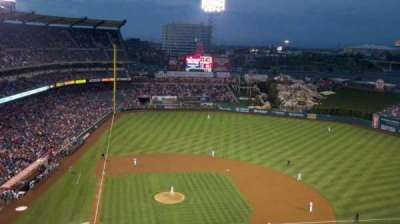 Angel Stadium section 525
