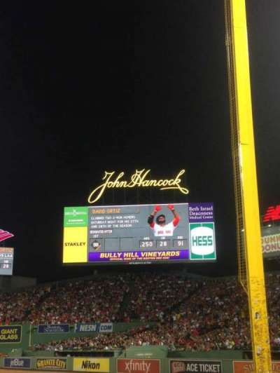 Fenway Park section Right Field Box 94