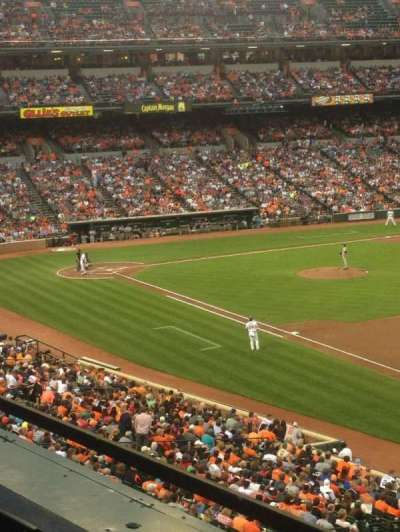 Oriole Park at Camden Yards, section: 210, row: 1, seat: 12