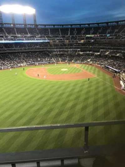 Citi Field, section: 534, row: 1, seat: 2