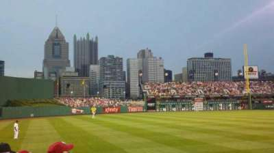 PNC Park, section: 131, row: A, seat: 12