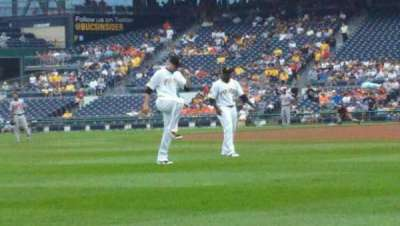 PNC Park, section: 31, row: A, seat: 1