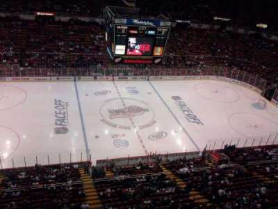 Joe Louis Arena section suite