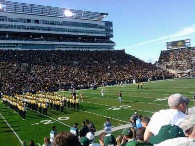 Kinnick Stadium section 107