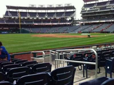 Nationals Park, section: 111, row: H, seat: 1