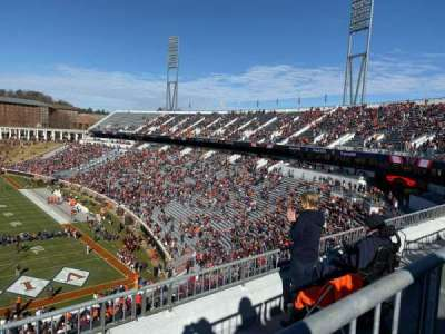 Scott Stadium section 520