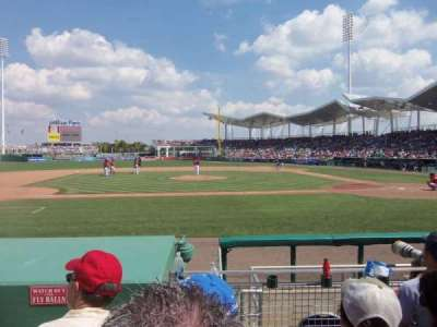 JetBlue Park, section: 106, row: 8, seat: Aisle 24-2