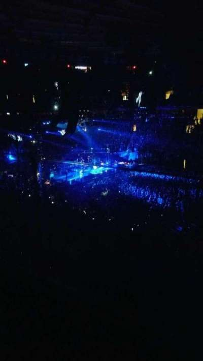 Madison Square Garden, section: 225, row: 1, seat: 12