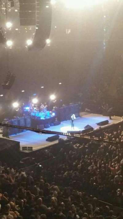 Madison Square Garden, section: 225, row: 1, seat: 6