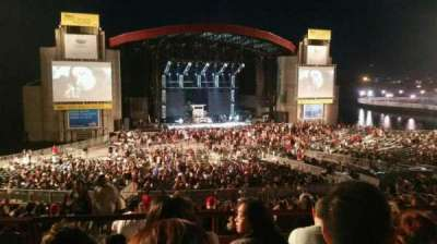 Jones Beach Theater, section: 12L, row: DD, seat: 13