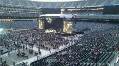 MetLife Stadium, section: 217, row: 1, seat: 8