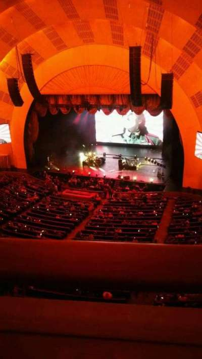 Radio City Music Hall, section: 3RDMZ2, row: A, seat: 205