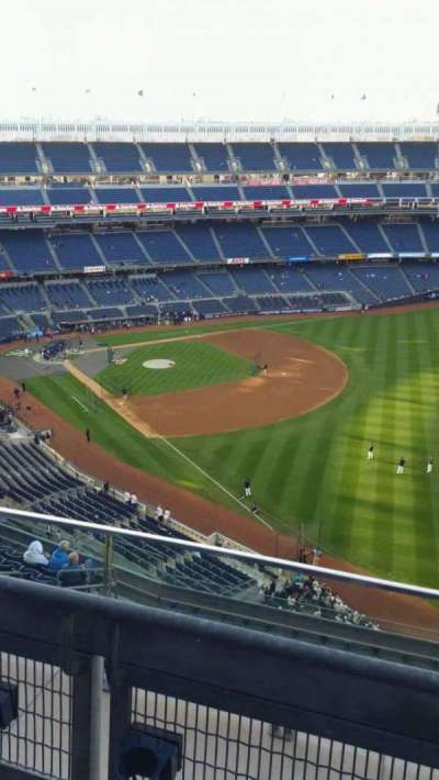 Yankee Stadium, section: 409, row: 2, seat: 10
