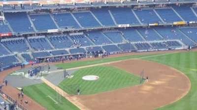 Yankee Stadium, section: 410, row: 1, seat: 3