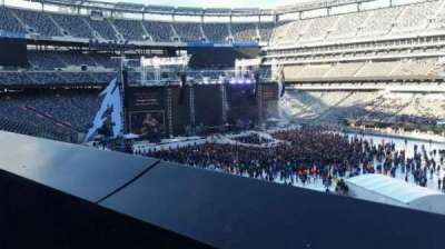 MetLife Stadium, section: 234, row: 1, seat: 15