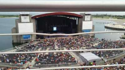Jones Beach Theater, section: 24, row: A, seat: 2