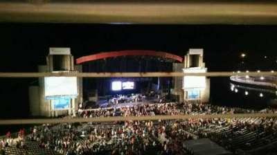 Jones Beach Theater, section: 24, row: A, seat: 5