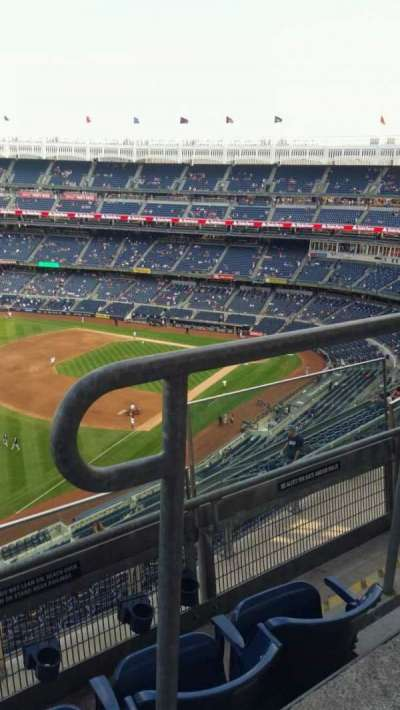 Yankee Stadium section 431a