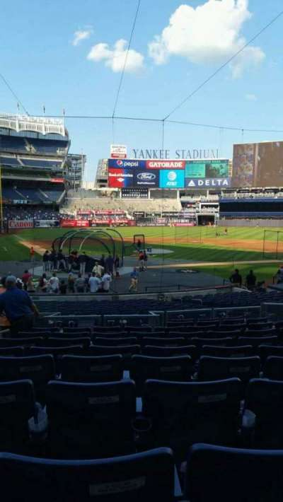 Yankee Stadium, section: 118, row: 11, seat: 7