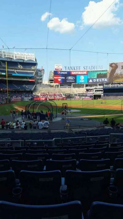 Yankee Stadium, section: 118, row: 10, seat: 9