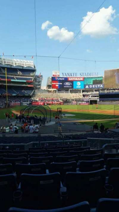 Yankee Stadium, section: 118, row: 10, seat: 7