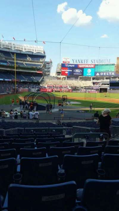 Yankee Stadium, section: 118, row: 10, seat: 5