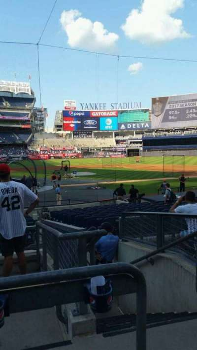 Yankee Stadium, section: 118, row: 6, seat: 2