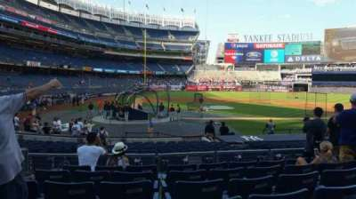 Yankee Stadium, section: 117B, row: 7, seat: 9