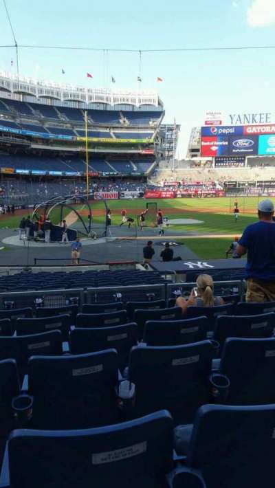 Yankee Stadium, section: 117B, row: 7, seat: 6