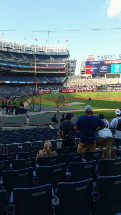 Yankee Stadium, section: 117B, row: 7, seat: 4