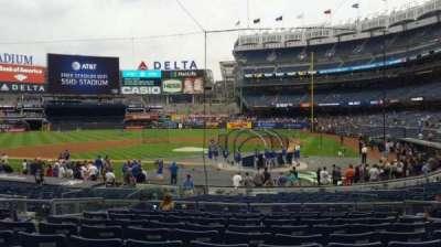 Yankee Stadium, section: 121B, row: 10, seat: 7