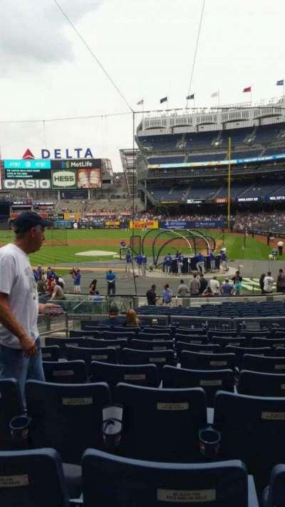 Yankee Stadium, section: 121B, row: 10, seat: 10
