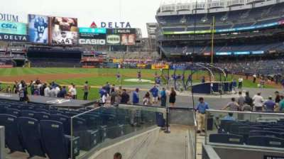 Yankee Stadium, section: 122, row: 3, seat: 1