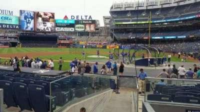 Yankee Stadium, section: 122, row: 3, seat: 1