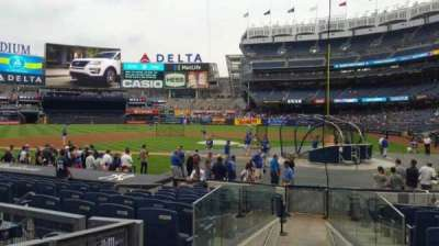 Yankee Stadium, section: 122, row: 3, seat: 3