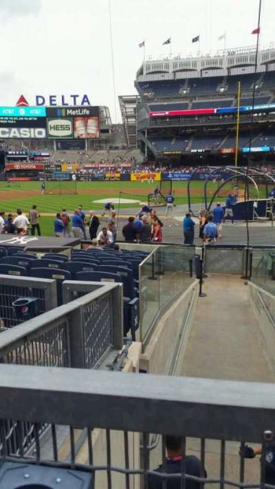Yankee Stadium, section: 122, row: 3, seat: 4