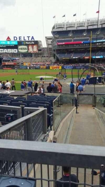 Yankee Stadium, section: 122, row: 3, seat: 4