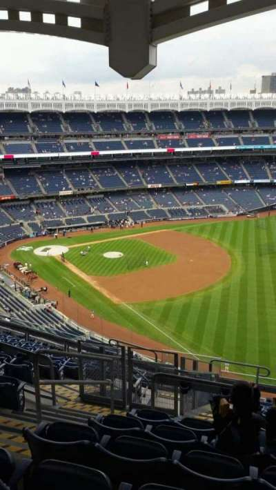 Yankee Stadium, section: 409, row: 12, seat: 21