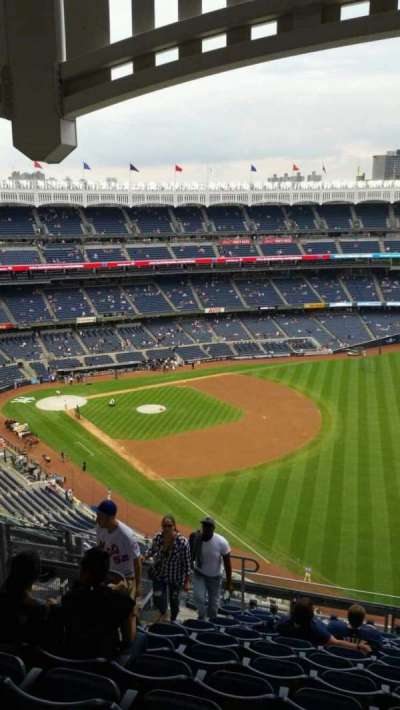 Yankee Stadium, section: 409, row: 12, seat: 17