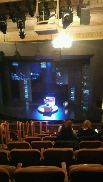 Music Box Theatre, section: Mezzanine, row: J, seat: 8