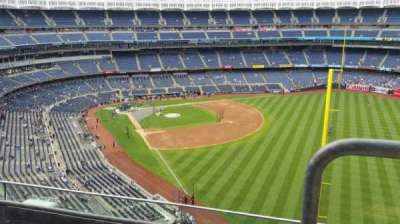 Yankee Stadium, section: 408, row: 3, seat: 1