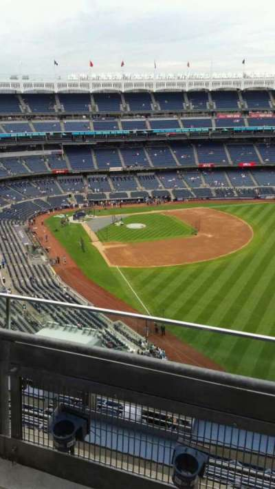 Yankee Stadium, section: 408, row: 2, seat: 3